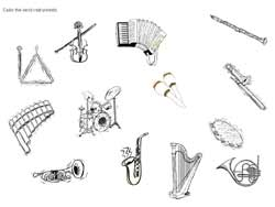 musical instruments coloring pages. 41 best images about cool ... - String Instrument Coloring Pages